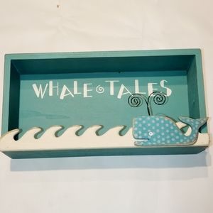 """Primitives By Kathy SHADOWBOX """"Whale Tales"""" NWT"""